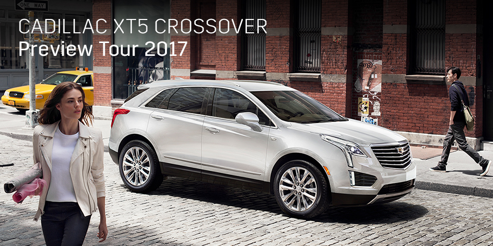 CADILLAC XT5 CROSSOVER PREVIEW TOUR 2017 開催_期間:2017.8.19[土]-2017.8.20[日]